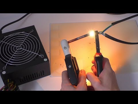 Аппарат для сварки скруток медных и алюминиевых проводов своими руками