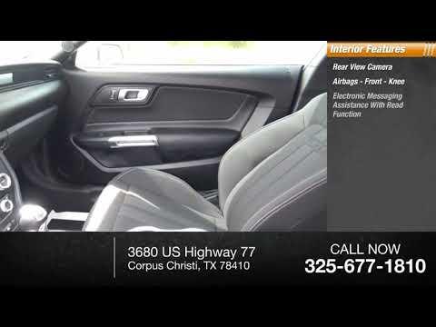 2019 Ford Mustang Corpus Christi TX K5181091