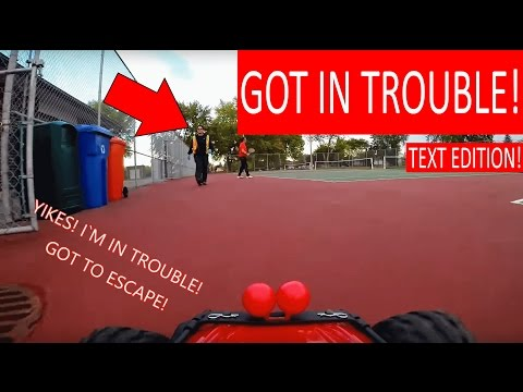 "ANGRY WOMAN FOLLOWS ""HENRY THE RC CAR"" IN TENNIS COURT!"