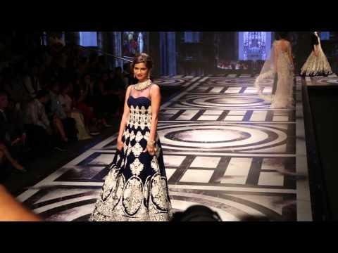 "BMW India Bridal Fashion Week 2015 | Day 2 | Falguni & Shane Peacock | ""A French Rendezvous"""