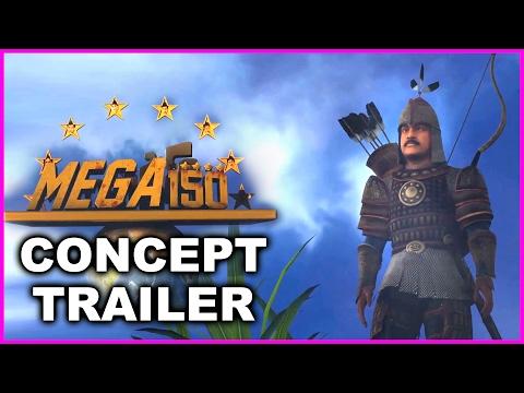 Mega 150 Game Trailer | Concept Trailer | Chiranjeevi | New Movie Updates 2017