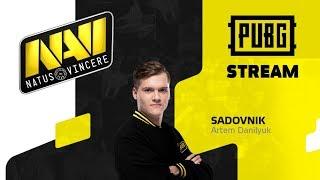 NaVi.Sadovnik - Паблики и фейсит 🔥🔥🔥 PLAYERUNKNOWN'S BATTLEGROUNDS