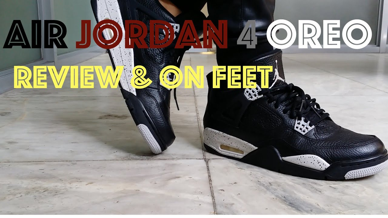 outlet store 0a6f7 74d10 Jordan 4 Oreo 2015 Remastered