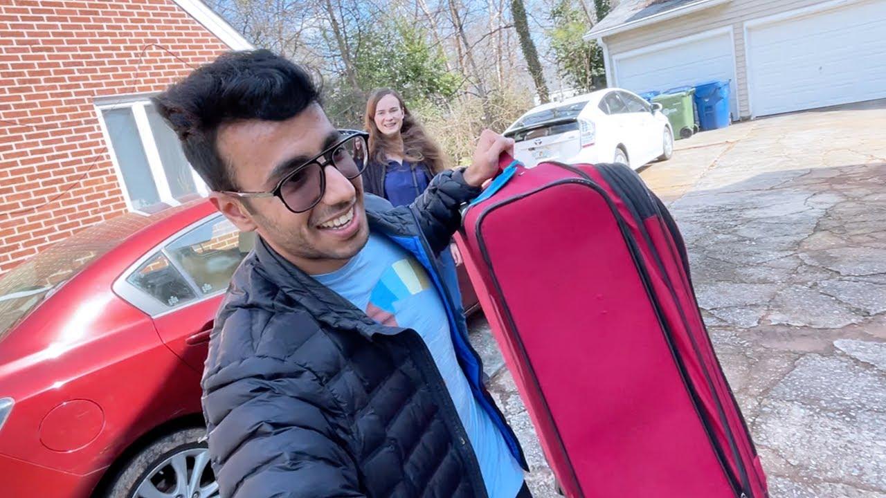 Girlfriend Moving to my House!! Luka Chuppi