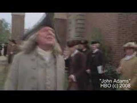 John Adams - The Miniseries (Ben Franklin's Introduction)