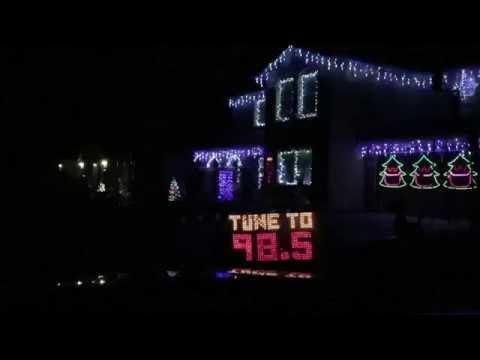 San Diego Christmas Light Tour - YouTube