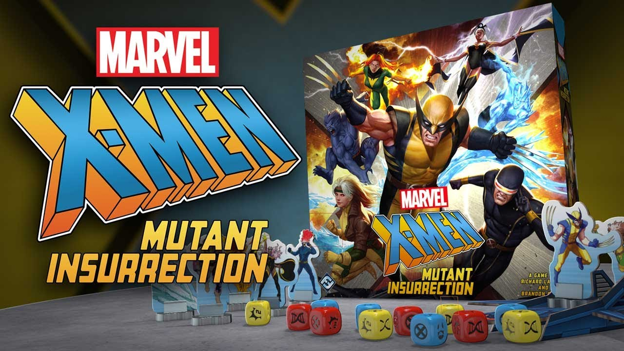 X-Men: Mutant Insurrection - Fantasy Flight Games