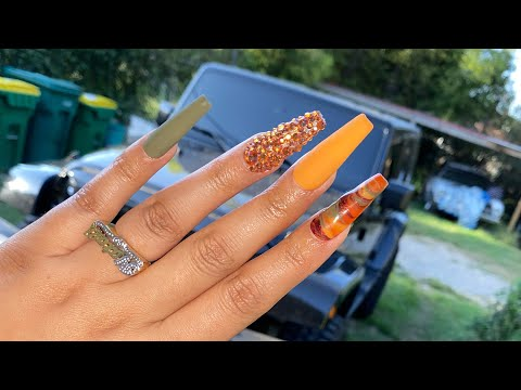 How To Make Press-On Nails | How To Apply Press-On Nails | Falls Nails | Natali Carmona