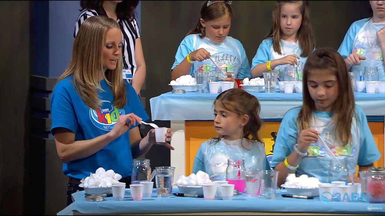 "05 - ""Awesomeness of God"" - 3ABN Kids Camp Creation Crafts"