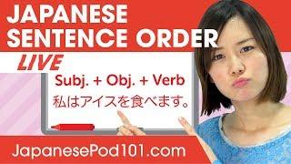 How to Make Japanese Phrases? Sentence Order | Basic Japanese Phrases