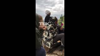 "Хранительница парка ""Ергаки"" - Лада Цуранова ругается на туристов"