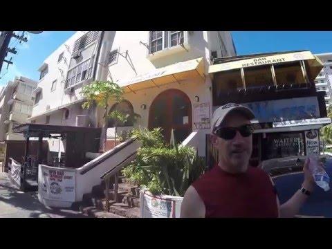 Walking Around Condado Lagoon Puerto Rico