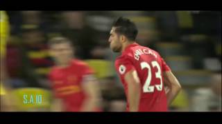 Emre Can INSANE Goal vs Watford ● English Commentary ●  FullHD