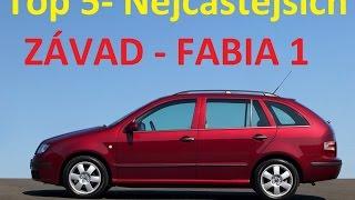 Top 5 Nejčastějších Závad - Škoda Fabia 1 :) BEZ KOMPRESE (: