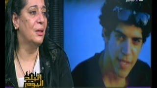 رولا خرسا تنهار بالدموع امام دموع الام التي قابلت السيسي وابكت مصر