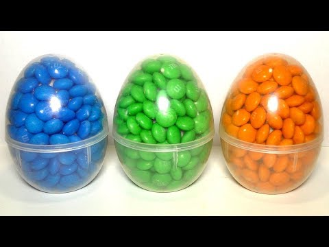 Яйца с сюрпризом Учим цвета Surprise eggs Развивающее видео для детей