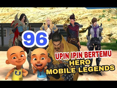 Episode 96 - Upin Ipin Bertemu Hero Mobile Legends ( fanmade mobile legends gta sa )