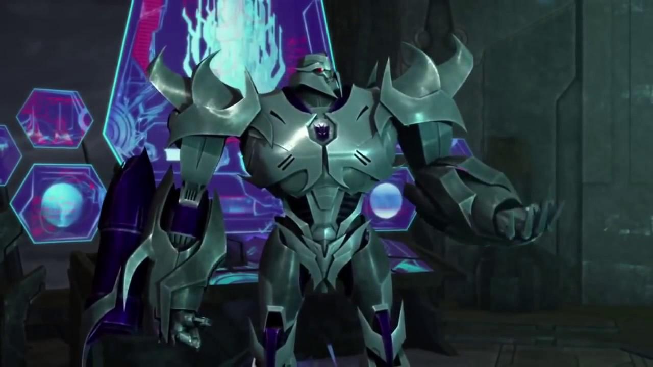Transformers prime beast hunters ultra magnus vs megatron youtube - Transformers prime megatron ...