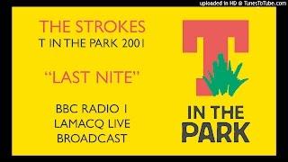"""THE STROKES T IN THE PARK 2001 """"LAST NITE"""" BBC RADIO 1 LAMACQ LIVE ..."""
