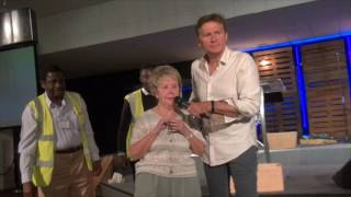 Lady healed chronic painful sciatica & blurred vision from cataract surgery - John Mellor Healing