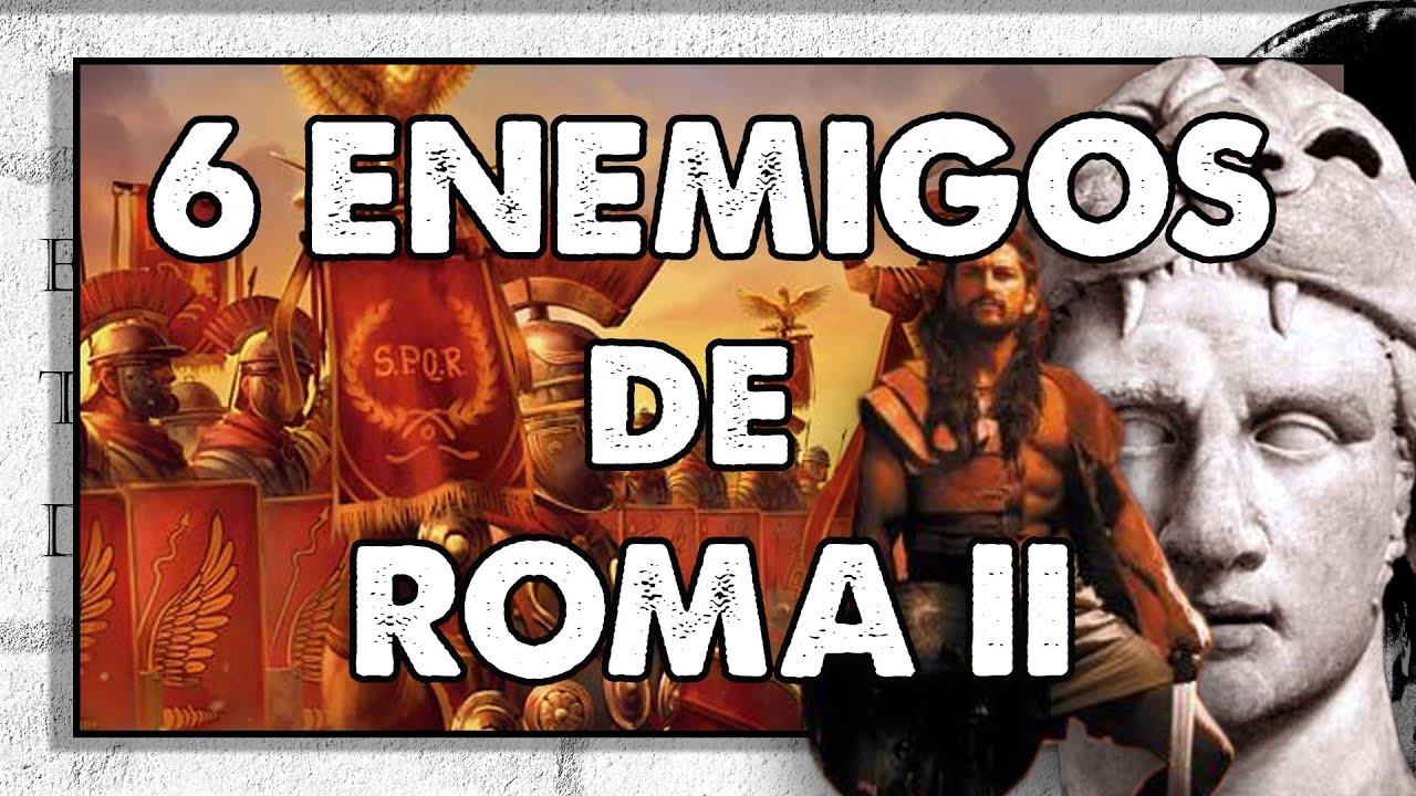 6 Enemigos de Roma II. Zenobia, Atila, Pirro... con @Grecorromano - Historia y Total War