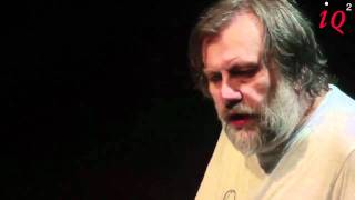 Slavoj Žižek on coffee - from his IQ2 talk