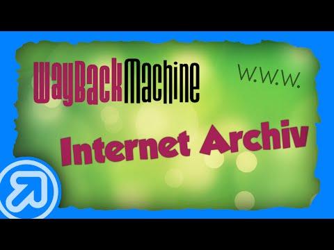 Wayback Machine: Internet Zeitmaschine [Tipp] [Deutsch/German]