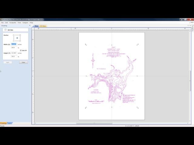 Vcarve Pro Lake Contour Map Tutorial
