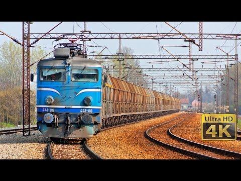 TENT Railway transport -  Termoelektrane Nikola Tesla - Železnički transport [4K]