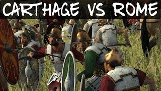 Total War Rome 2 Online Battle 164 Carthage vs Rome