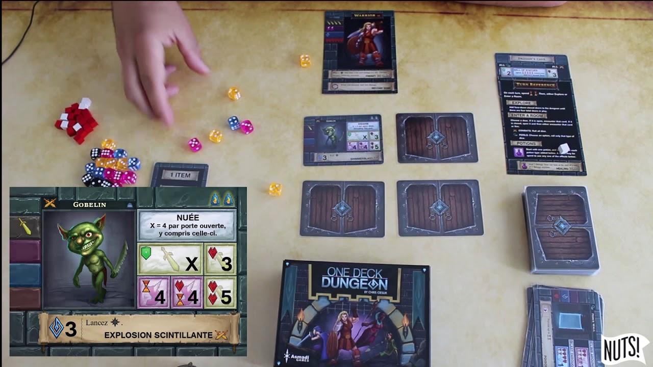 One Deck Dungeon Fr Presentation Des Regles