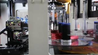 Single Phase Motor Vertical Type Stator Coil Winding Machine