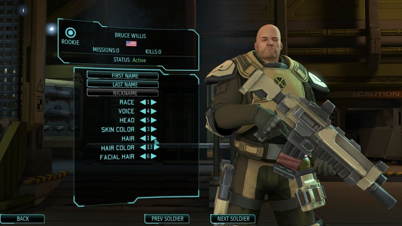 Xcom enemy unknown character customization youtube for Portent xcom not now
