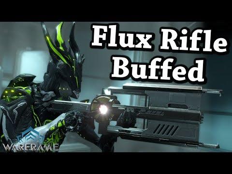 Warframe | Flux Rifle [Buffed] (4 Forma Build)