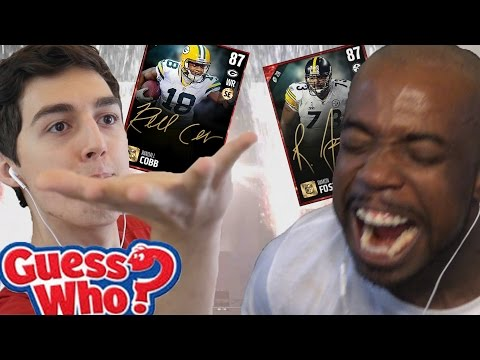 GUESS WHO CHALLENGE! LOSER QUICKSELL SIGNATURE ELITE PLAYER! W/ LostNUnbound Madden NFL 17