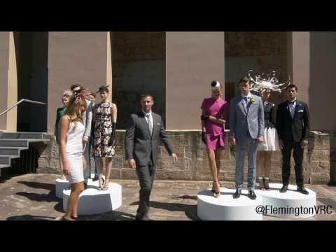 2013 Melbourne Cup Carnival Spring Fashion Moment In Sydney