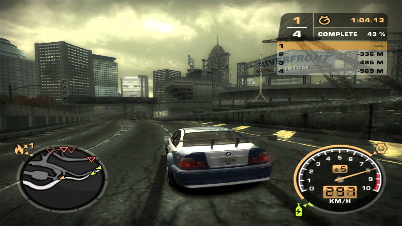 Bmw E46 M3 >> Need For Speed: Most Wanted (2005) - BURGER KING ...