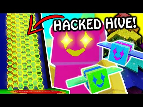 This Is Hacked Bee Swarm Simulator In Roblox Youtube