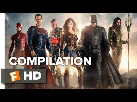 Justice League ALL Trailers + Clips (2017) | Movieclips Trailers