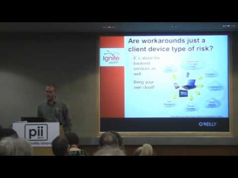 Ignite pii2013 talk by David Houlding - User Behavior-Driven Privacy Risks and Mitigations