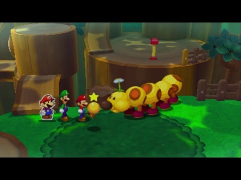 Mario and Luigi: Paper Jam (Bros.) - Part 18 (Berry Woes)