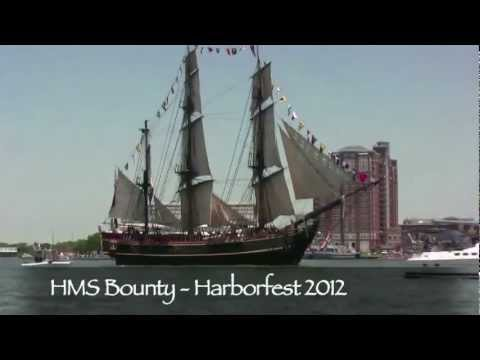 HMS Bounty -- Before the Storm -- Hurricane Sandy 2012