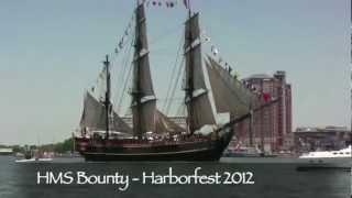 HMS Bounty -- Before the Storm -- Hurricane Sandy 2012