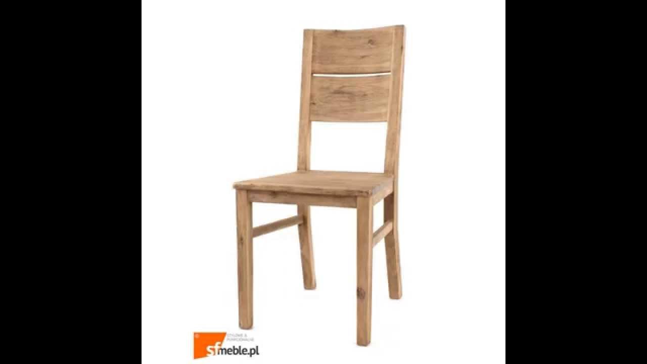 wolf m bel coast drewniane krzes o akacja szczotkowana jasna youtube. Black Bedroom Furniture Sets. Home Design Ideas
