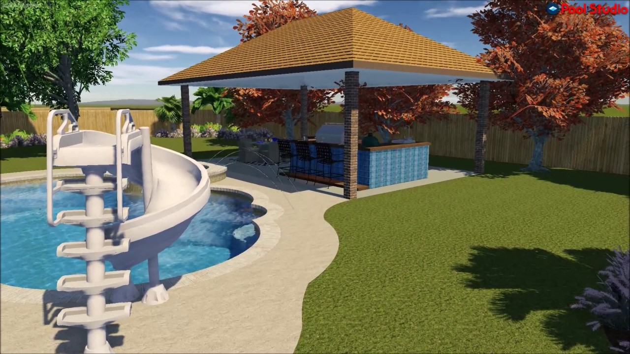 platinum pools the melancon backyard dream design by roy murphy