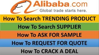 How To Identify Products On Alibaba and Crack A Deal In Hindi