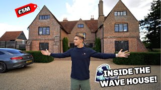 My New £5,000,000 House Tour (The Wave House)