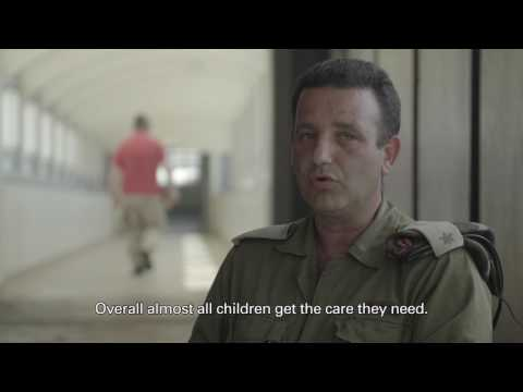 Head of Israeli Medical Department aiding Syrians