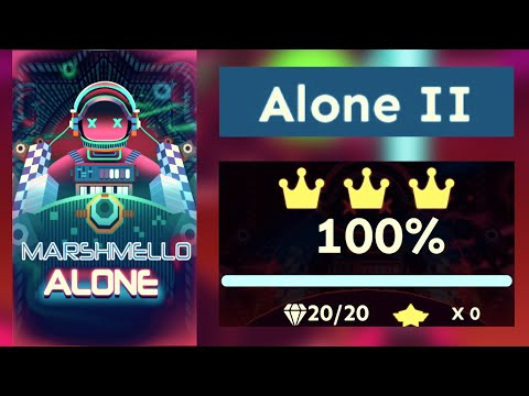 Rolling Sky - Alone by Marshmello (Level 35 - Alone II) [OFFICIAL]