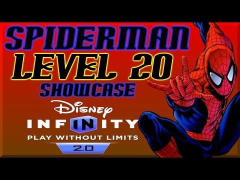 Disney Infinity 2 0 Spiderman Level 20 Skill Tree  - Spiderman Alien Symbiote By DisneyToyCollector